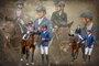 Pferde-Collage Familie Witzemann